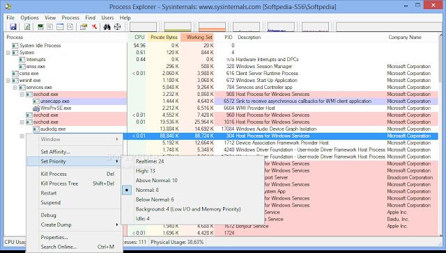 Process Explorer 16.21 Terbaru