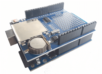 Data logger Shield e Arduino Uno