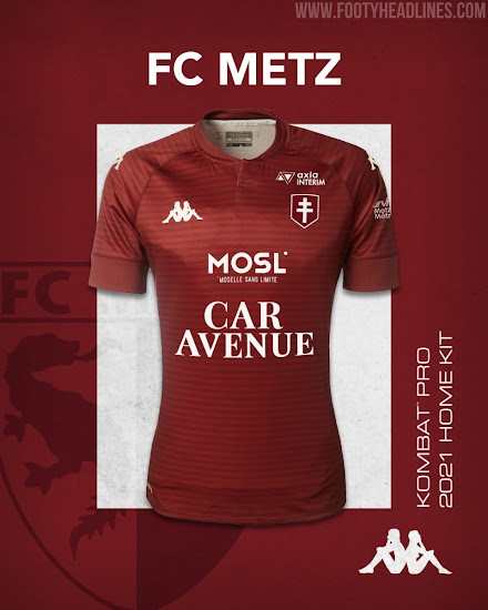 FC Metz 20-21 Home, Away & Third Kits Released - Footy Headlines