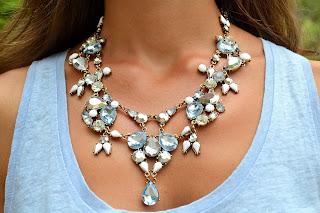 4 maneras de llevar... un collar azul