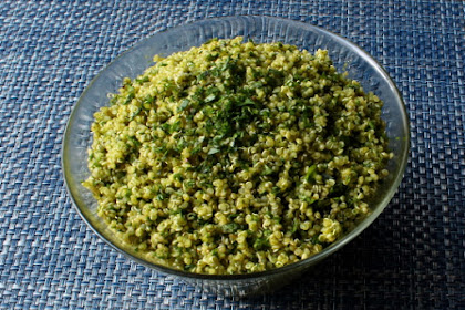 Green Quinoa Tabbouleh – Going Against the Grain