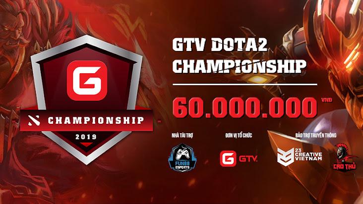 Công bố 16 đội tham dự GTV Dota 2 Championship 2019