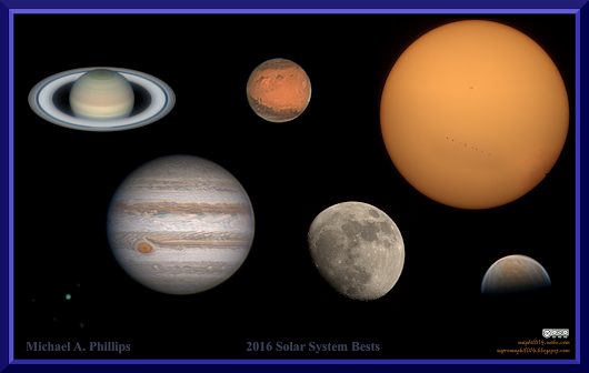 2016 Solar System Bests