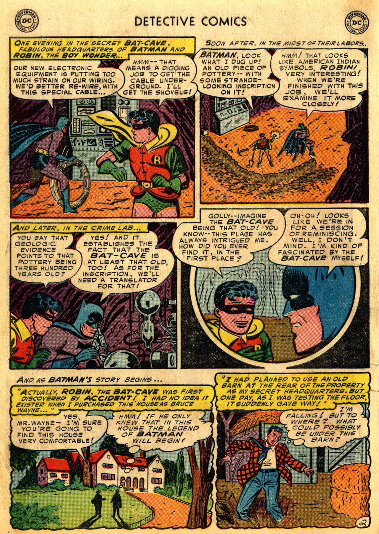 Detective Comics (1937) 205 Page 3