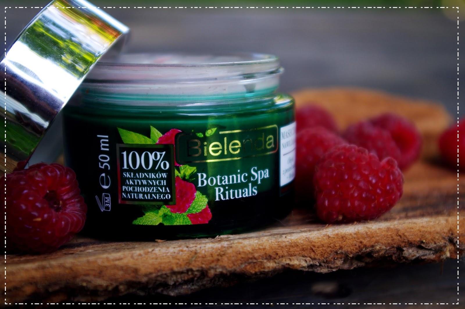 Botanic Spa Rituals Maseczka nawilżająca olejek z pestek malin & melisa - Bielenda