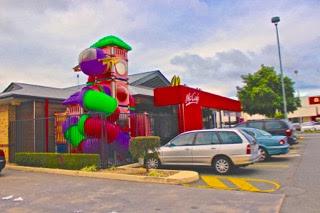 McDonalds Children Play area