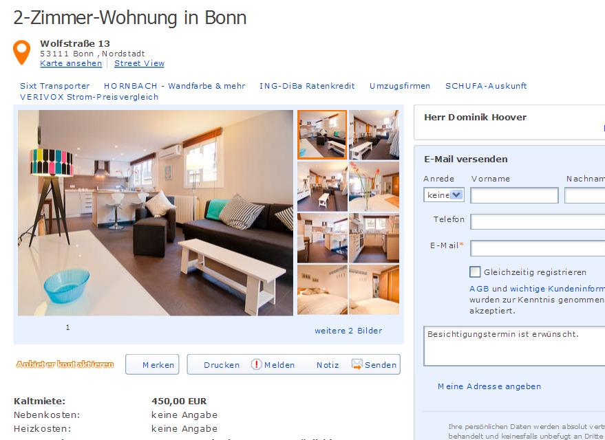 Wohnung Bonn Nordstadt