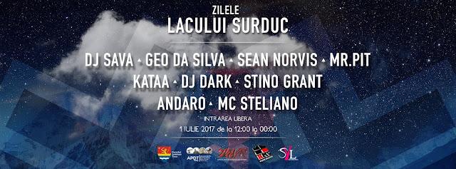 Aero Nautic Show si concert cu DJ Sava la Zilele Lacului Surduc 2017