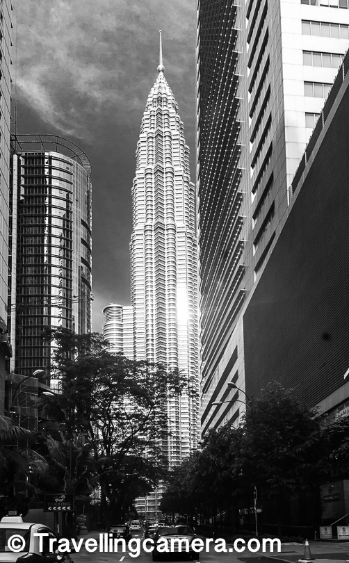 People usually visit the surrounding park and get a selfie clicked with these Twin Towers of Kuala Lumpur. And then if you want, you can go inside the Twin Towers and explore it's showrooms & some of the finest restaurants/cafes. There is also an option to go to the top of the tower and have some wonderful aerial views of the city.