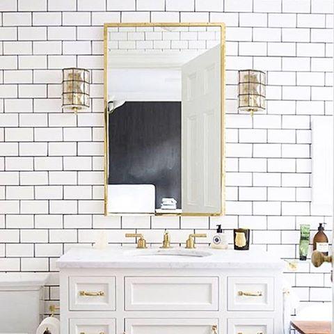 tips cara ciptakan ruang kamar mandi vintage shabby chic