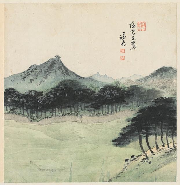 겸재(謙齋) 정선(鄭敾, 1676~1759) 경교명승첩(京郊名勝帖) 은암동록
