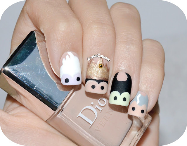 Nail Art - Disney Villains