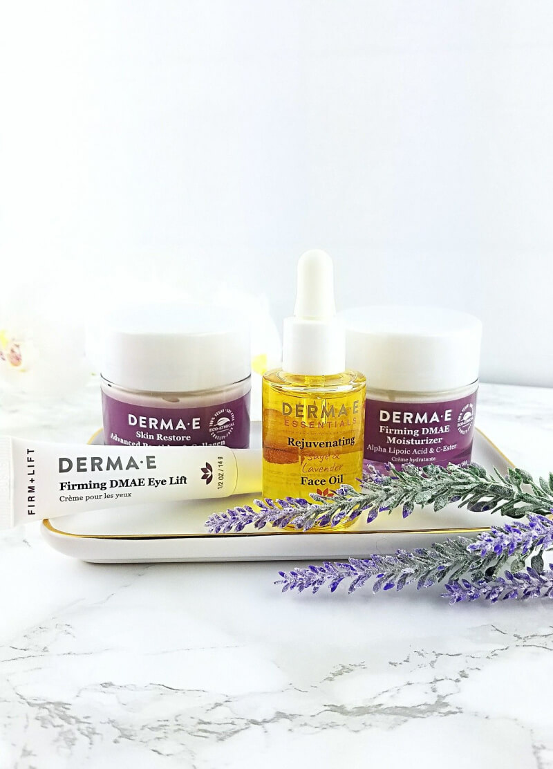 My Top Four Derma-E Skin Care Hydrating and Firming Favorites 1