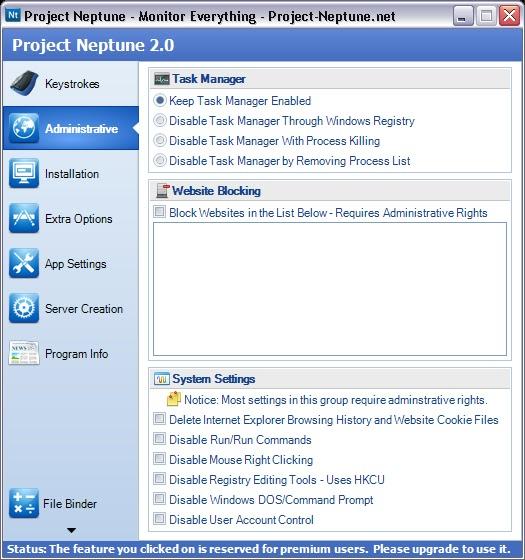 ______hAcKiNg______   : Project Neptune Keylogger [TuT]