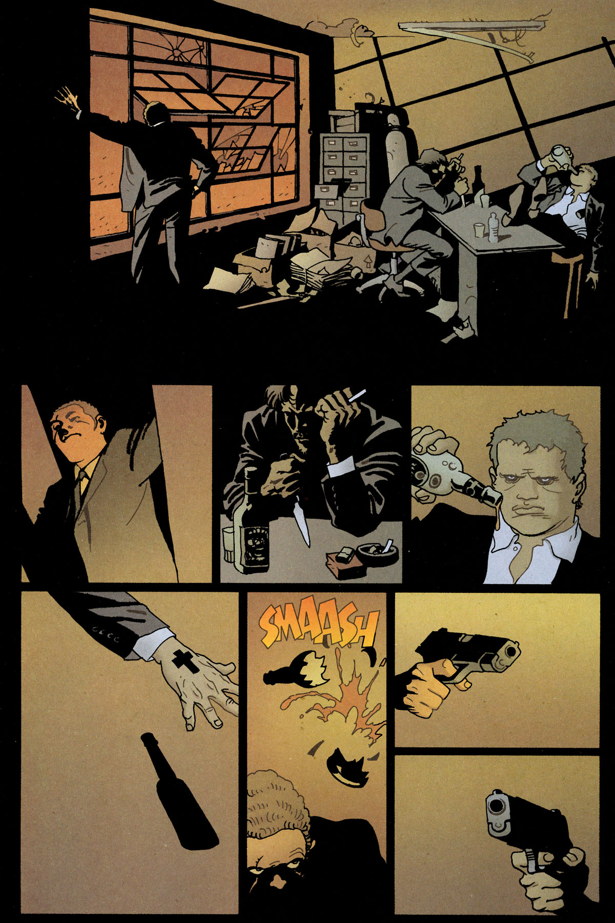 Read online 100 Bullets comic -  Issue #80 - 14