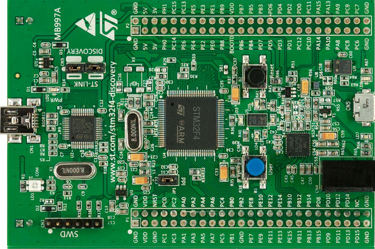 low tech: STM32F4 Discovery Quick Start Guide