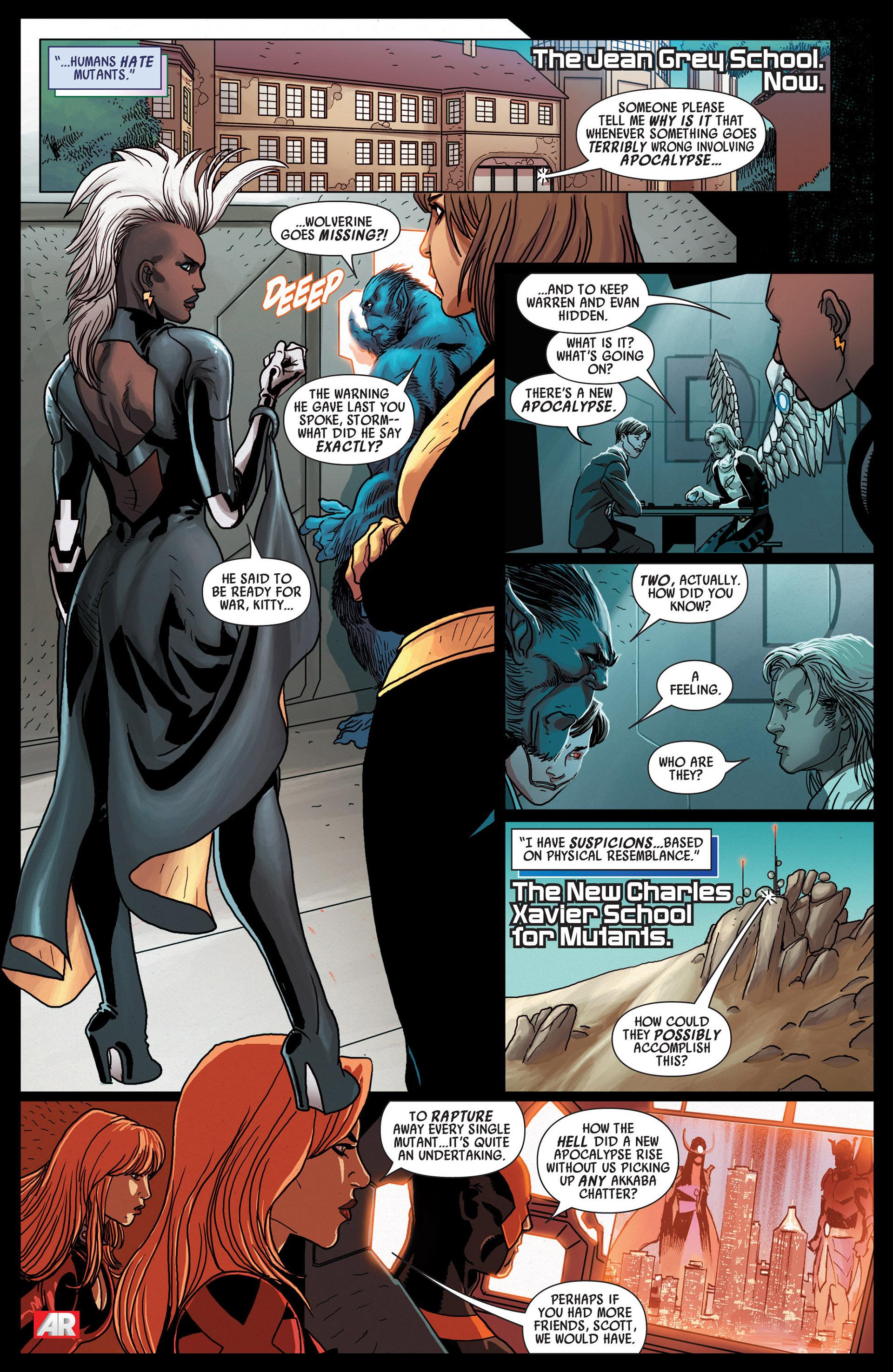 Read online Uncanny Avengers (2012) comic -  Issue #12 - 6