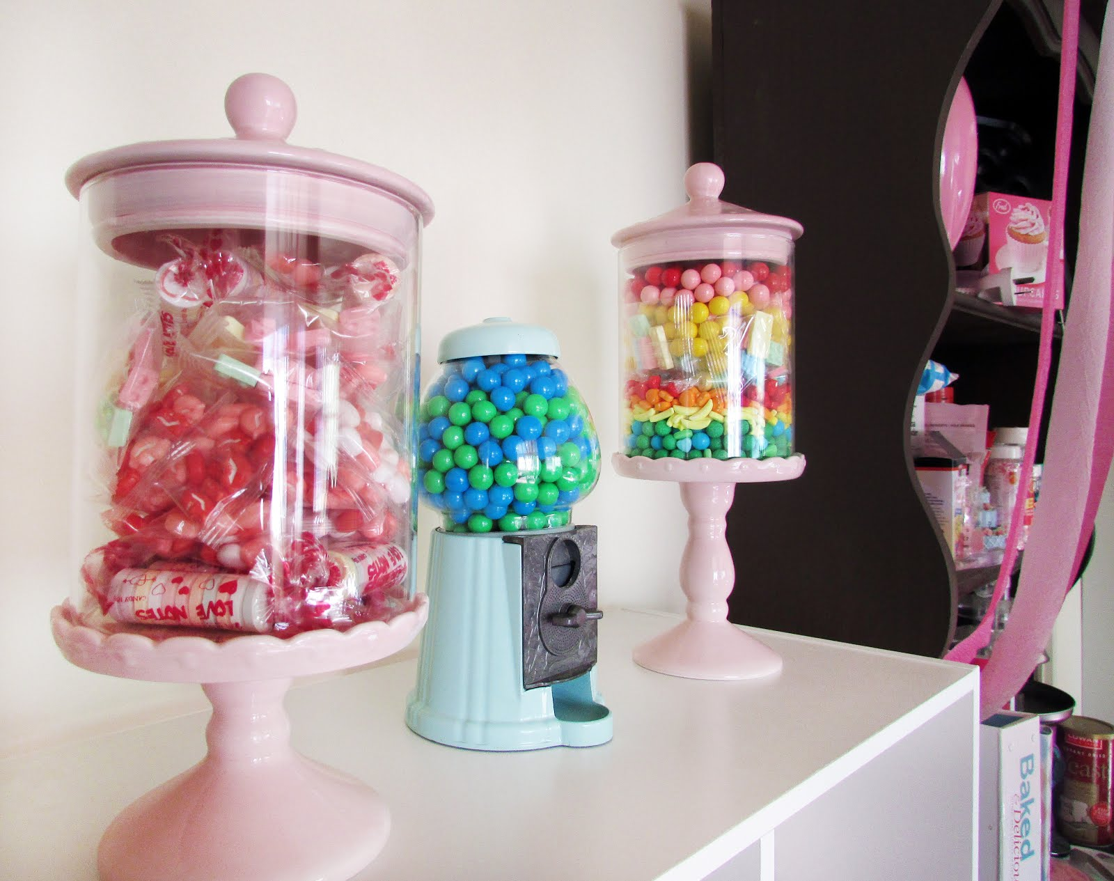 Candy Themed Home Decor