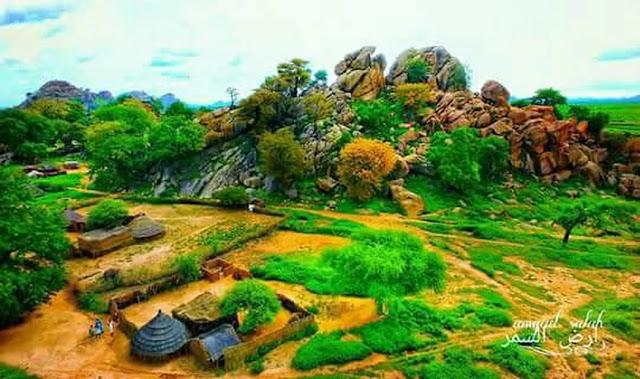 صورة من غرب السودان