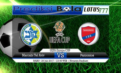 Prediksi Pertandingan antara Maccabi Tel Aviv vs Panionios Tanggal 26 Juli 2017