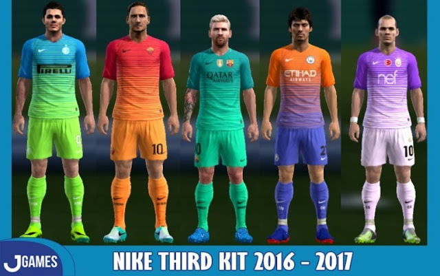 PES 2013 Nike Third Kits Season 2016-2017