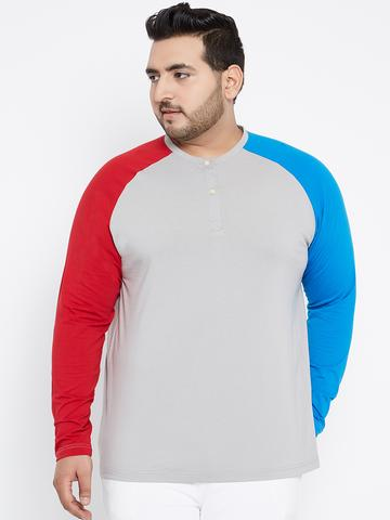 a6568e1d9d6b8 By now you must ve realized that bigbanana have the best to offer when it  comes to plus size henley t-shirts online in India.