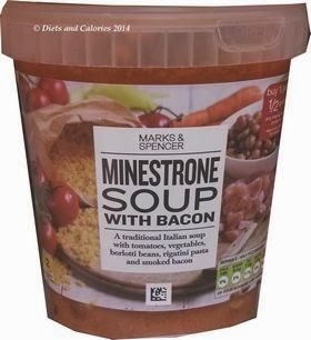Marks & Spencer Minestrone with Bacon Soup