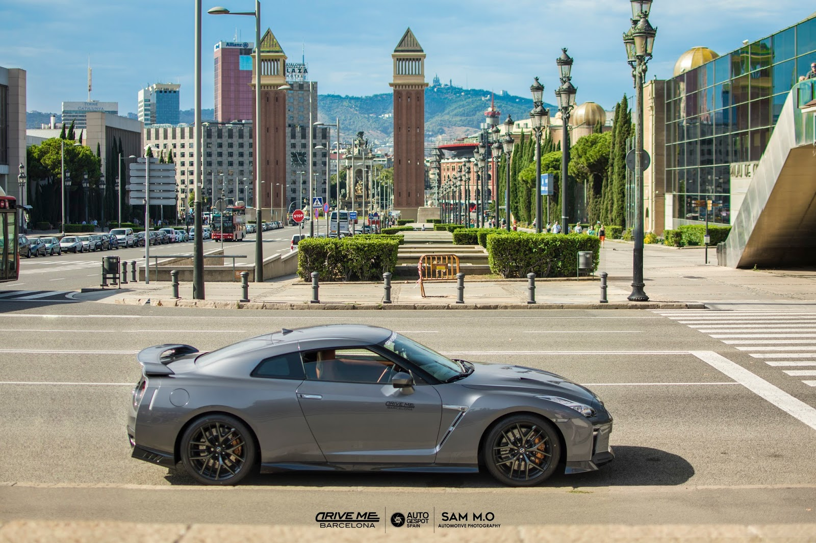 Probamos el Nissan GTR 2017