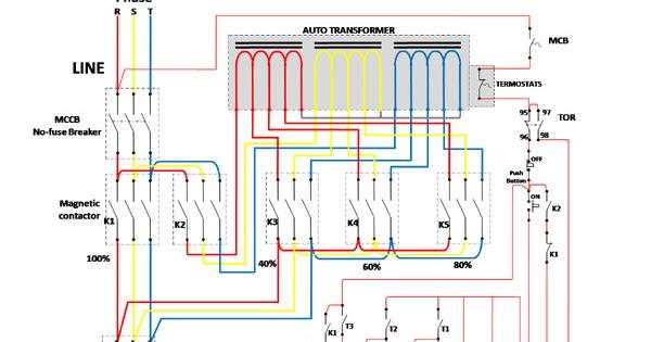 Fabulous Auto Transformer Starter Wiring Diagram Somurich Com Wiring 101 Cranwise Assnl