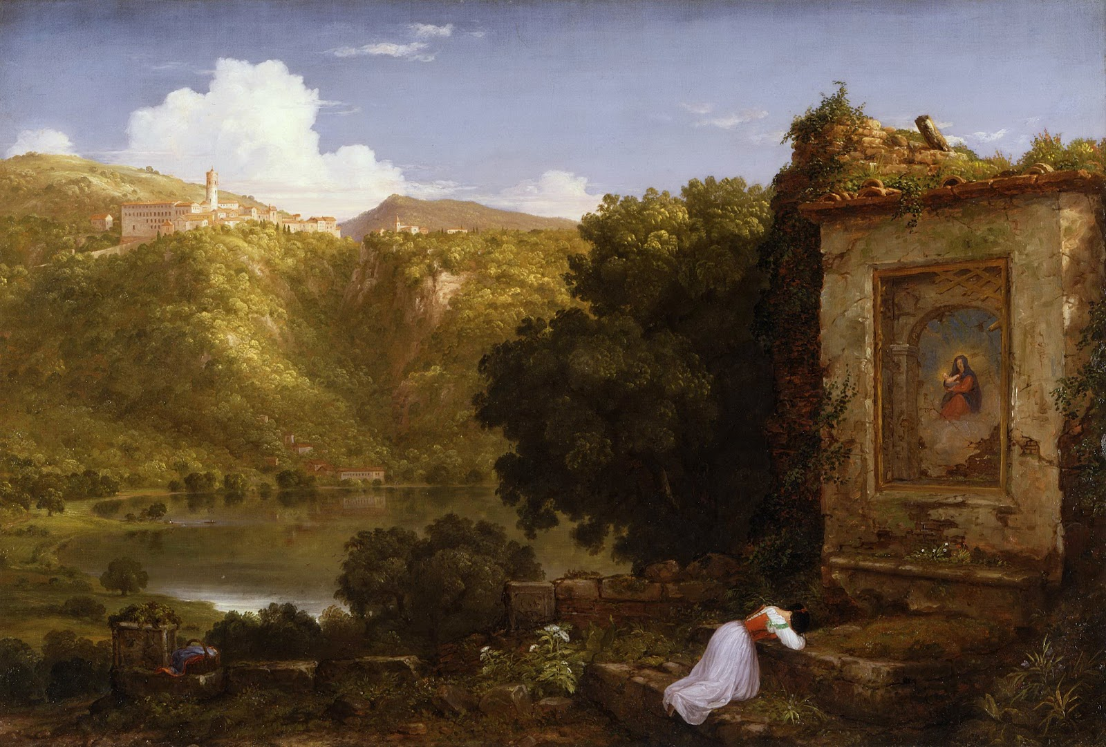 Fall Mountain Scenes Wallpaper 19th Century American Paintings Thomas Cole