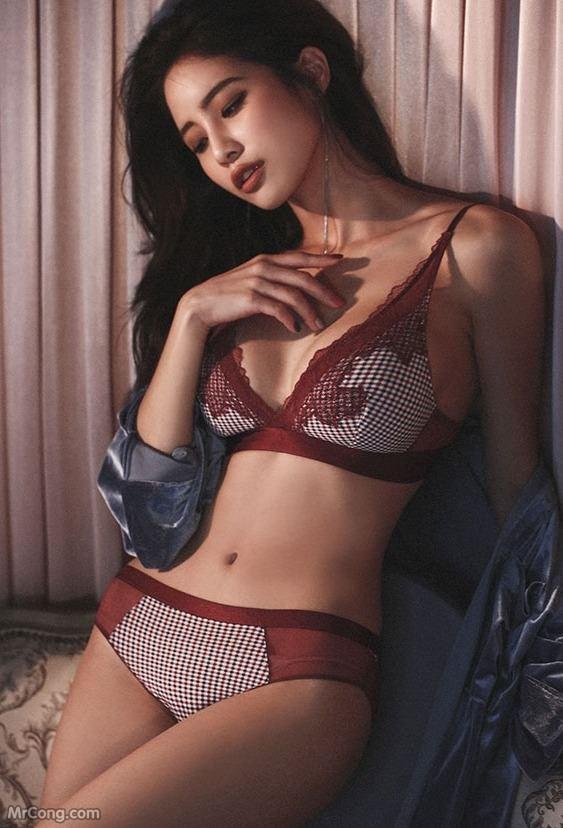 Image Korean-Model-Ju-Woo-012018-MrCong.com-010 in post Người đẹp Ju Woo trong bộ ảnh nội y tháng 01/2018 (50 ảnh)