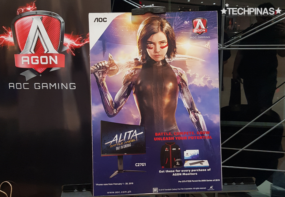 Alita Battle Angel Movie Philippines, AOC Alita, 20th Century Fox Alita Battle Angel