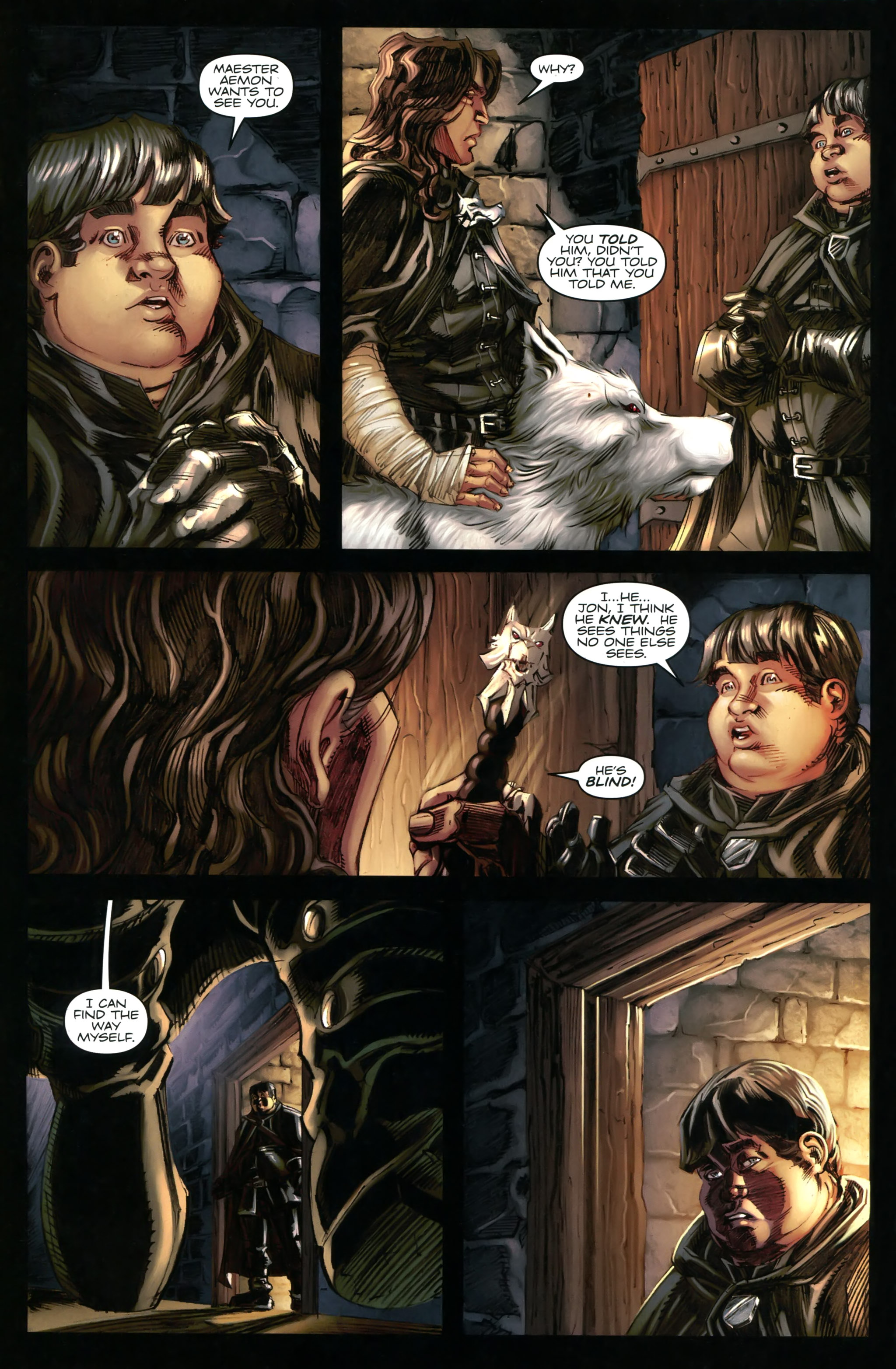 Read online A Game Of Thrones comic -  Issue #20 - 28