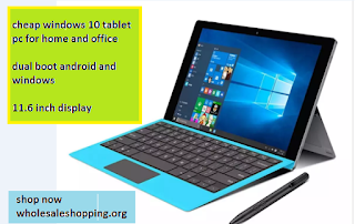 cheap windows 10 tablet pc for home and office