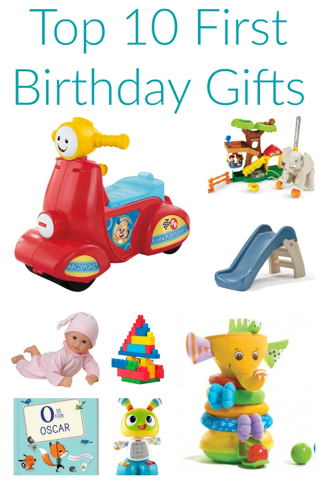 Friday Favorites Top 10 First Birthday Gifts