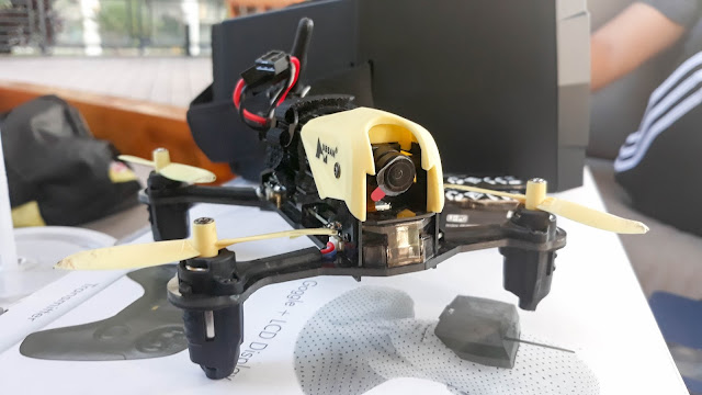 Ubsan H122D X4 STORM Racing Drone ranneveryday