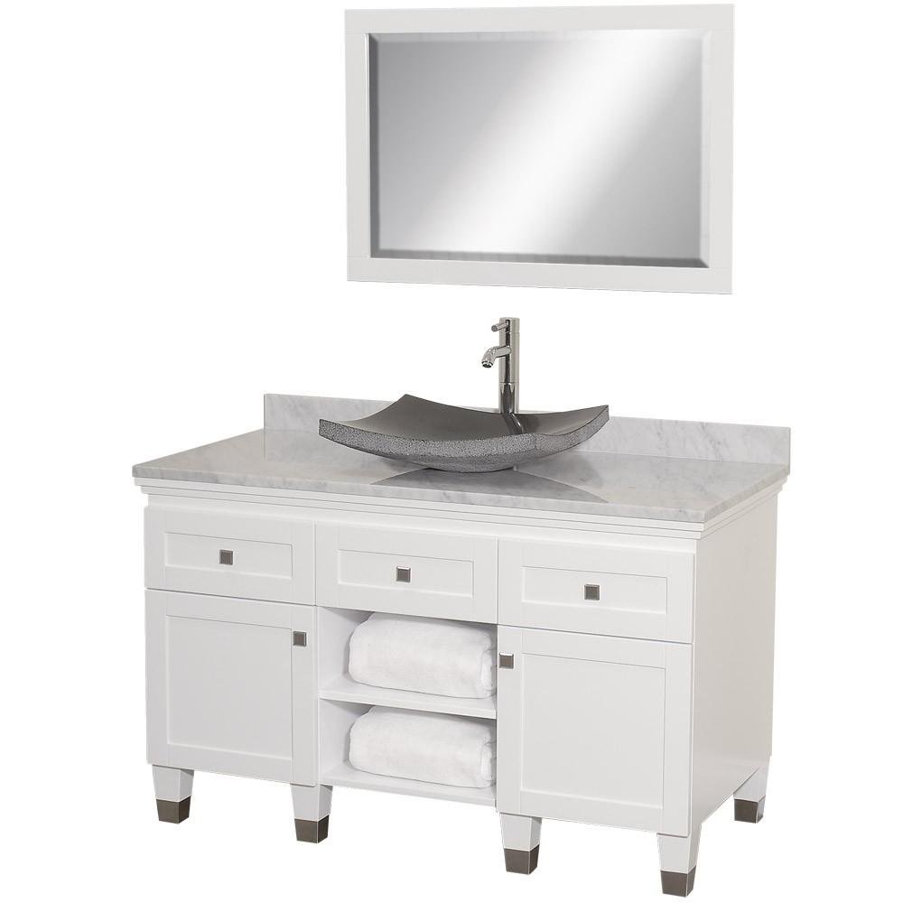 White Bathroom Vanities: Discount Bathroom Vanities: White Bathroom Vanities