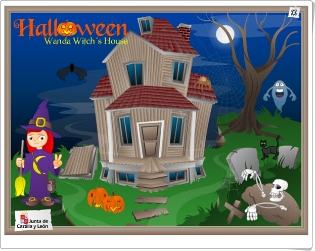 "Halloween: ""Wanda Witch's House"""