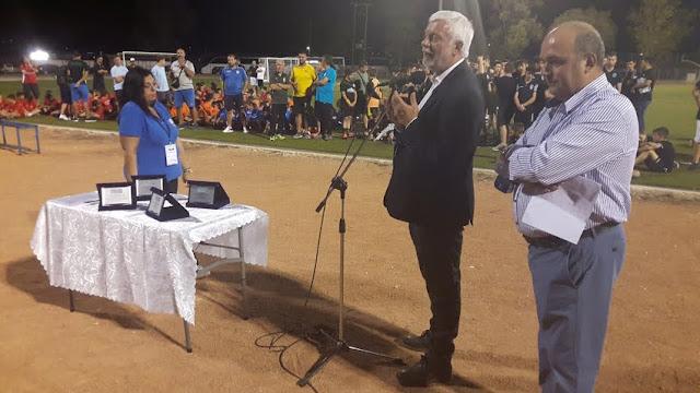 Έναρξη του τουρνουά ακαδημιών στο Δρέπανο - Το ενωσιακό γήπεδο θα φέρει το όνομα του Κώστα Αντωνιάδη