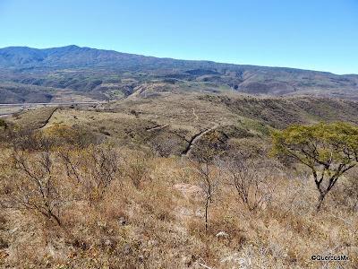 Cerro Viejo visto desde el Cerro Patomo