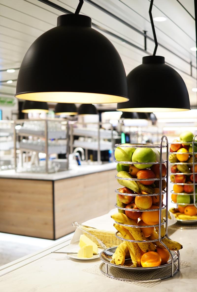 laiva, ravintola, hedelmät