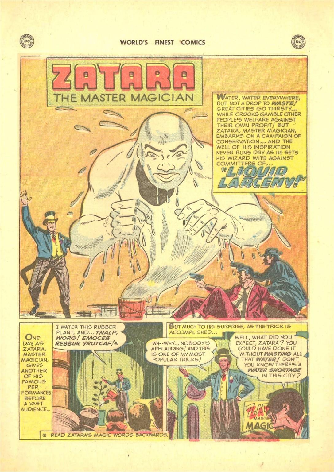 Read online World's Finest Comics comic -  Issue #50 - 55