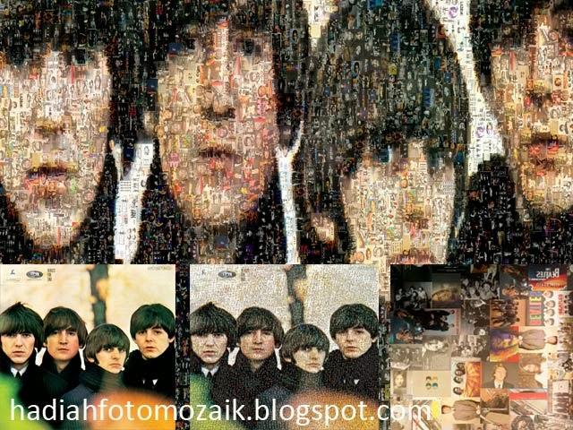 jasa foto mozaik online untuk hadiah ulang tahun
