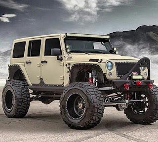 Koleksi foto2 keren jeep monster amerika...pasti pada pengen..😍😍😍