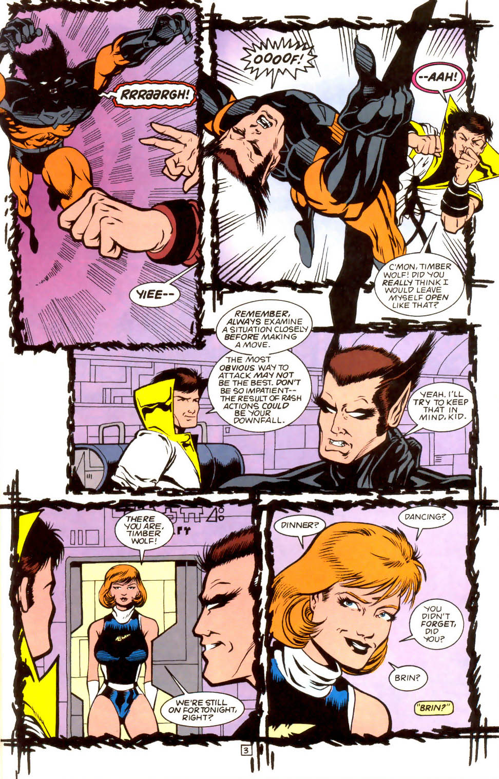 Legion of Super-Heroes (1989) 52 Page 3
