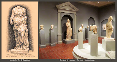 Hygeia. Goddess of Health. Antioch. Worcester Art Museum. by Travis Simpkins