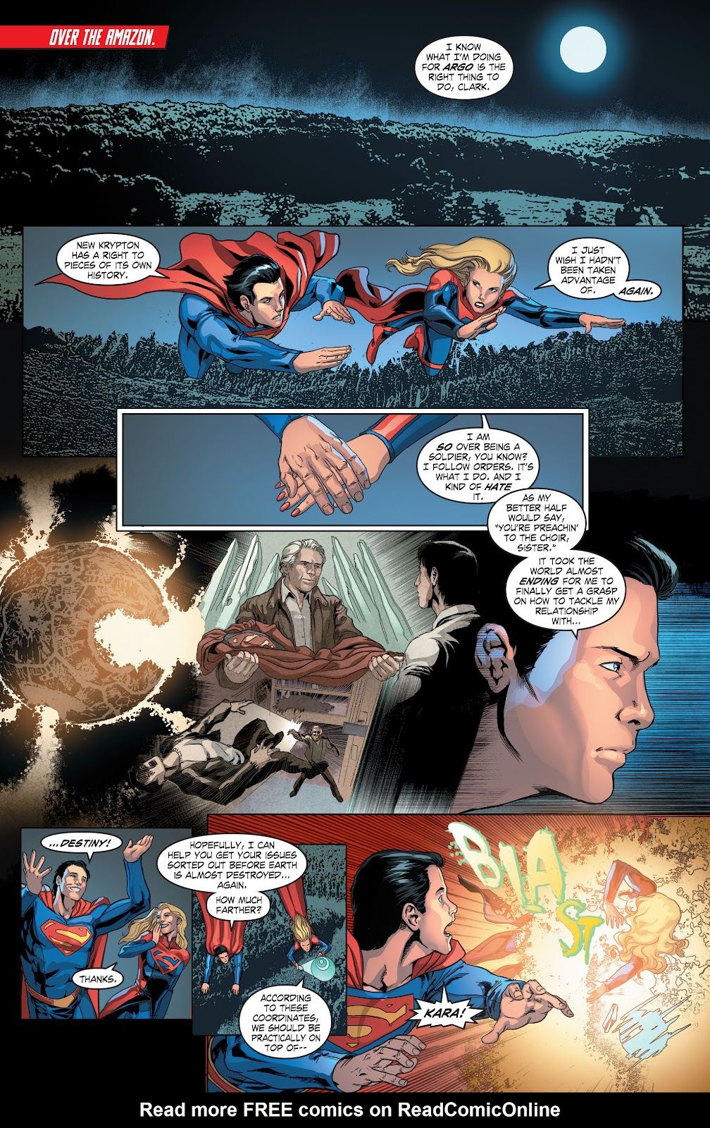 Read online Smallville Season 11 [II] comic -  Issue # TPB 4 - 62