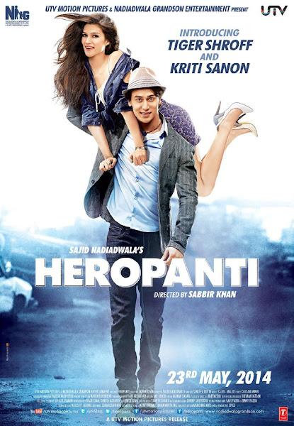 Poster of Heropanti 2014 Hindi 5.1ch 1080p HDRip Full Movie Download x264