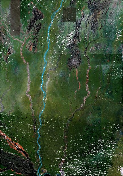 Ummagumma Google Earth Art