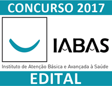 Concurso IABAS Rio de Janeiro 2017